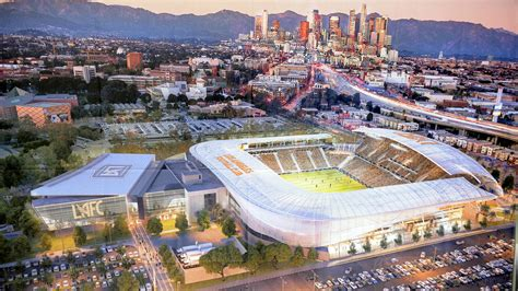 Lafc Banc Of California Stadium Renderings Goalcom