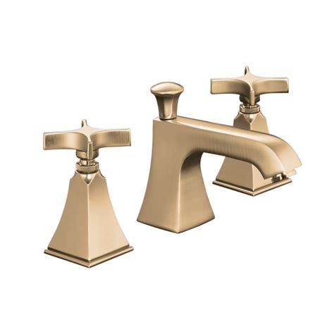 shop kohler memoirs vibrant brushed bronze 2 handle widespread watersense bathroom sink faucet