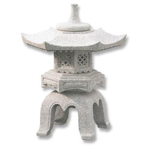 lanterne japonaise en granit rokakuyukimi h056 vente lanterne japonaise en granit