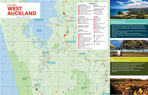 Map Of West Auckland (new Zealand