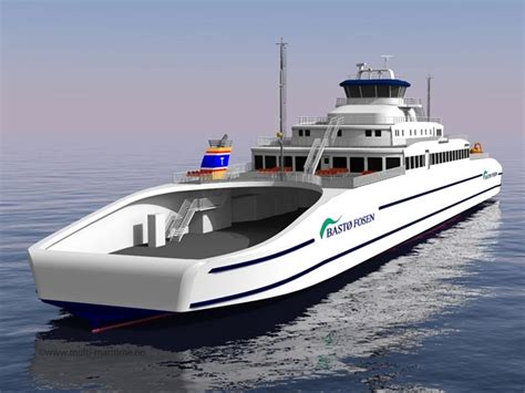 Catamaran Ferry Safety by Rolls Royce To Supply Five Norwegian Ferries With Azimuth