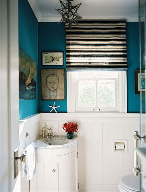 teal blue bathroom decoist