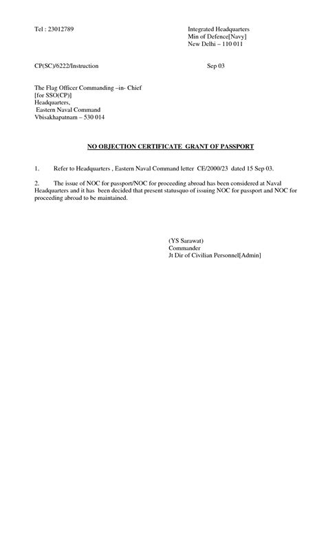Noc Letter Format For Passport  Best Template Collection. Texas Will Template. Career Objective For It Resume. Work Plan Template Word Template. Resume For Registered Nurse With No Experience Template