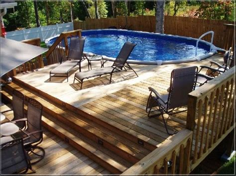 best 25 pool deck plans ideas on above ground pool pool decks and above