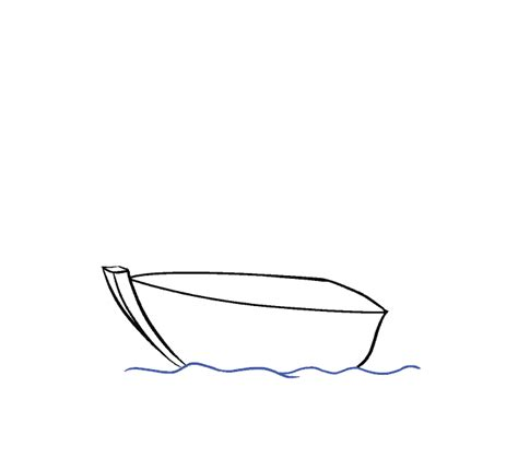 Cartoon Drawing Of A Boat by How To Draw A Boat In A Few Easy Steps Easy Drawing Guides