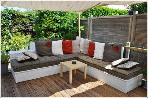 salon de jardin canap 233 d angle ext 233 rieur en bois jardins et terrasses bricolage