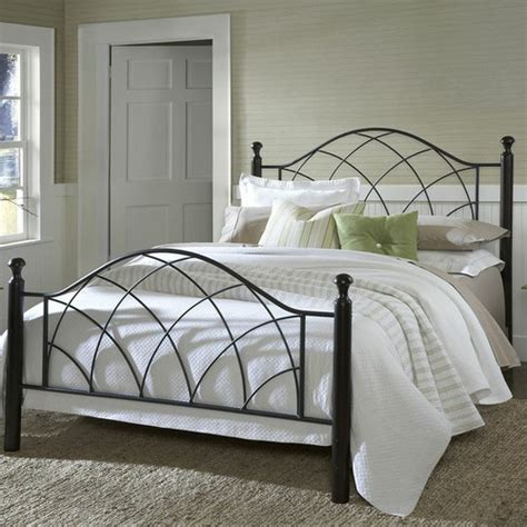 hillsdale vista metal bed reviews wayfair