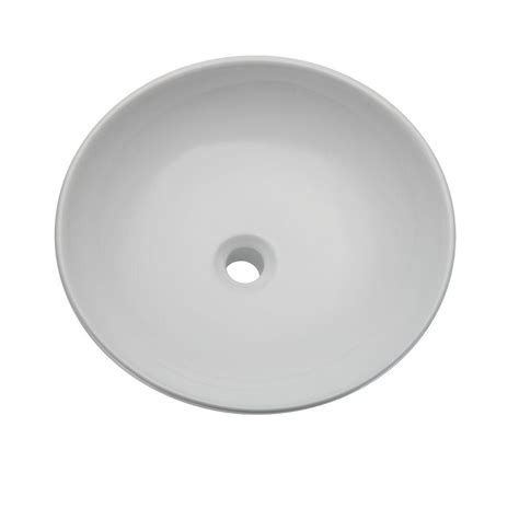 decolav classically redefined vessel sink in white 1467