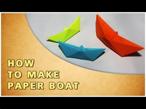 How To Make A Toy Boat Youtube by Origami How To Make Paper Boat Traditional Paper Toy