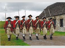 British Soldiers Marching American Revolution