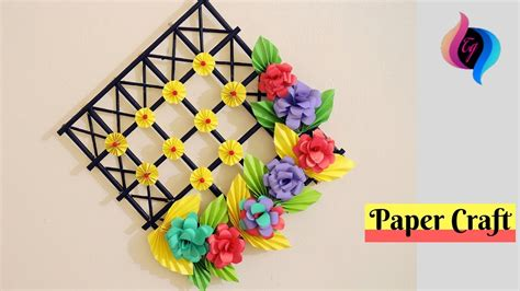 Diy  Wall Decoration Ideas With Paper Craft  Ways To