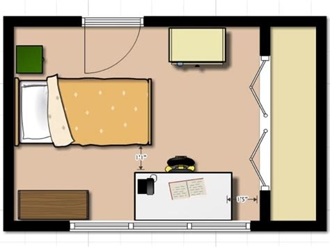Bed room layout, small bedroom layout plans small bedroom