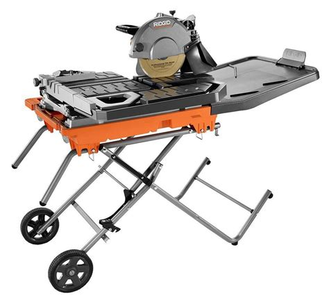 ridgid beast 10 inch tile saw pro construction guide