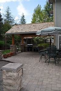 covered patio ideas Outdoor Kitchen Designs for Portland, Oregon Landscaping ...