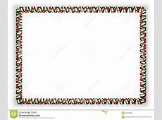 Frame And Border Of Ribbon With The United Arab Emirates
