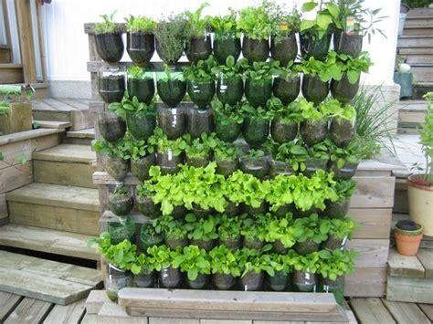 Plastic Bottle Vertical Garden Ideas