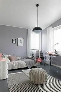 Jugendzimmer Wände Gestalten : 1001 ideen f r wandfarbe graut ne f r die w nde ihrer wohnung ~ Markanthonyermac.com Haus und Dekorationen