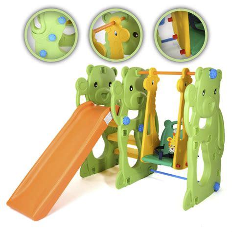 toboggan aire de jeux balan 231 oire pour enfants ext 233 rieur et 224 l int 233 rieur jardin