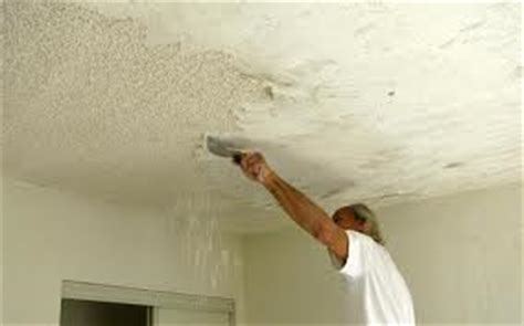 how to remove a popcorn ceiling home inspector tells you how