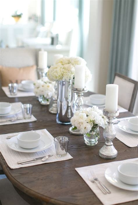 25 best ideas about dining room table decor on formal dining table centerpiece