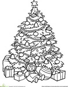 The Berenstain Bears Christmas Tree by Christmas Tree Worksheet Education Com
