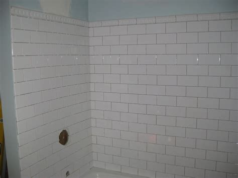 Subway Tile Tub Surround by Snails Pace Like Molasses Glacial Speed Renovate Me