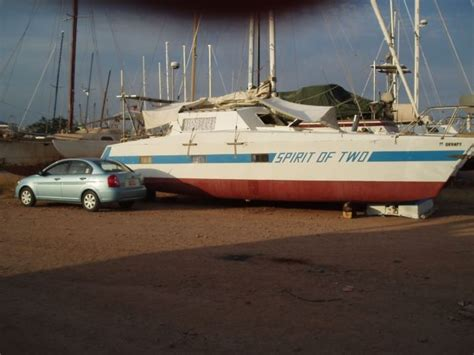 Catamaran 40ft Engine by 40 Ft Catamaran Gerhard Backau 1982 For Sale