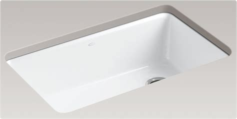 kohler k 5871 5ua3 0 riverby single bowl undermount kitchen sink white