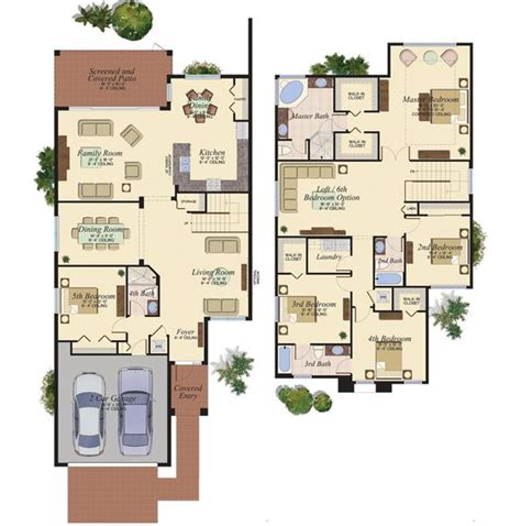 beazer house plans for california
