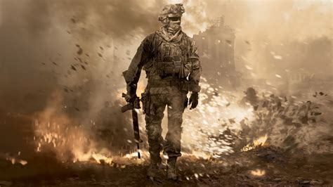 modern warfare 2 calm in hell wallpaper