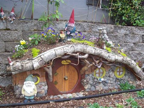 Gnome Homes For Gardens garden gnome house and