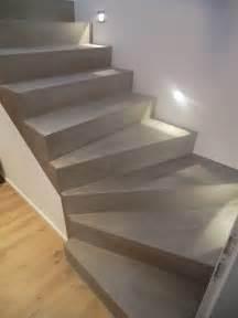 Beton Cire Verarbeitung : beton cire oberfl chen in beton look und wieder eine treppensanierung mit besserbauen beton cire ~ Markanthonyermac.com Haus und Dekorationen