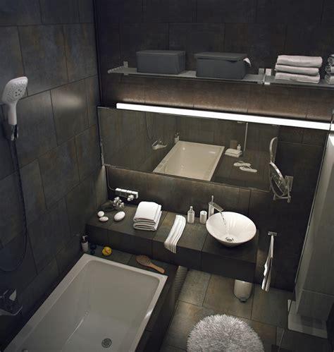 casual loft style living interior design maxim zhukov built in bath white basin ideasgn