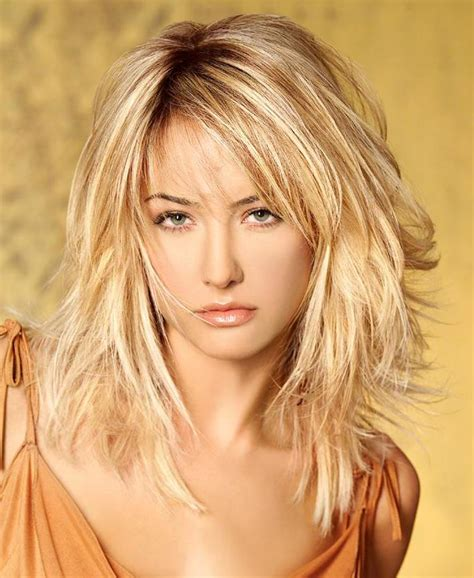 HD wallpapers medium length layered hair styles