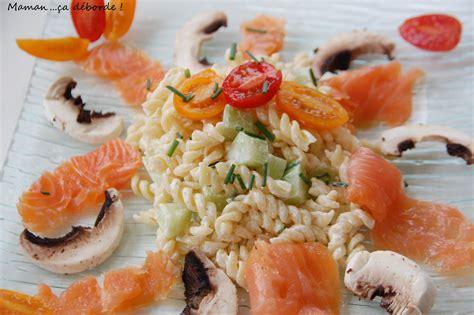 salade de p 226 tes au saumon fum 233 maman 231 a d 233 borde