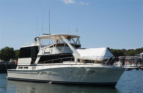 Long Island Motor Boats For Sale by 50 Viking Yachts 1985 Ciao Bella For Sale In Long Island
