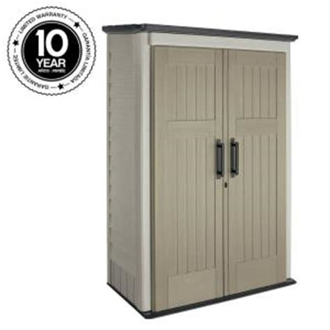 rubbermaid vertical storage shed shelves rubbermaid 3 ft x 4 ft large vertical storage shed