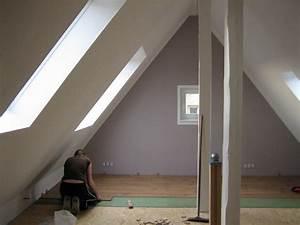 Dachboden Fußboden Verlegen : dachboden ausbauen fu boden dachboden ausbauen stunning komplett wrmedmmung verkleidung mit ~ Markanthonyermac.com Haus und Dekorationen