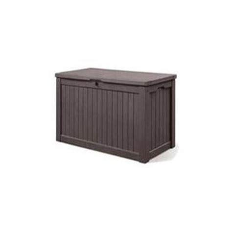 keter 567 l resin deck box lowe s canada