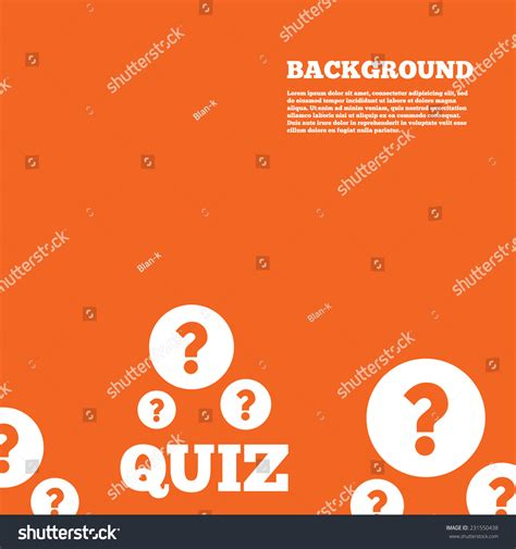 modern design background quiz question marks stock vector 231550438