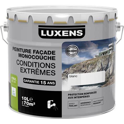 peinture fa 231 ade conditions extr 234 mes luxens ton 10 l leroy merlin