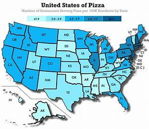 The Top Cities and States Across the U.S. for Pizzerias ...