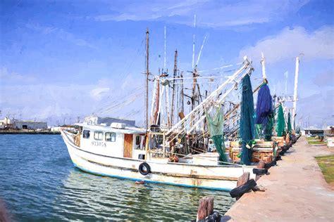 Shrimp Boat For Sale Texas by Palacios Texas Shrimp Boat Lineup Photograph By Jg Thompson