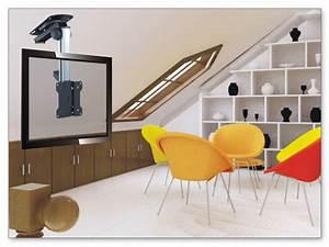 Halterung Für Fernseher : dachschr ge schr gdach dach decken halterung fernseher led lcd plasma tv pc l86 ebay ~ Markanthonyermac.com Haus und Dekorationen