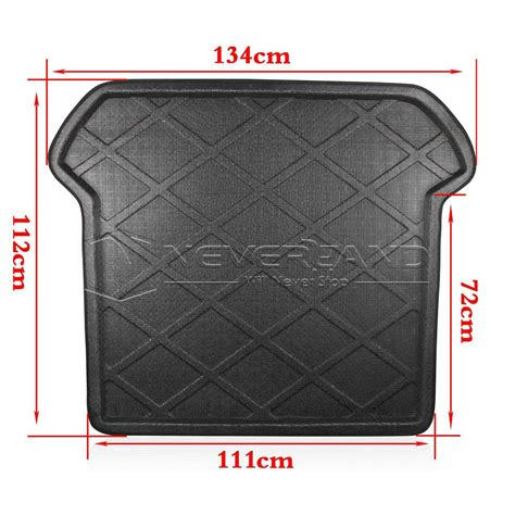 rear trunk tray boot liner cargo mat floor protector for