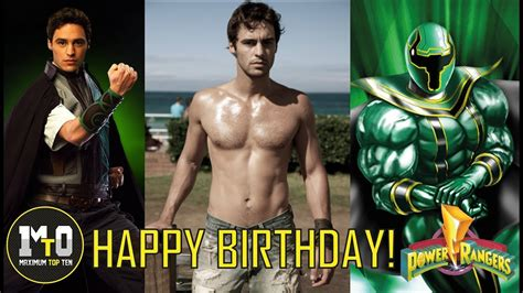 Xander Bly Green Ranger Tribute ( Happy
