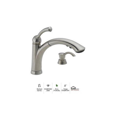 delta 16926 sssd dst brilliance stainless lewiston pullout