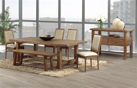 warm and rustic dining room ideas furniture home