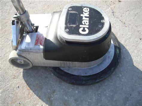 floor buffer clarke fm1700 maintainer polisher ebay