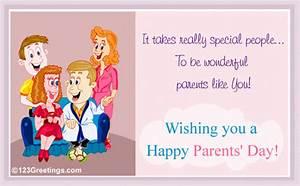 Wonderful Parents... Free Parents' Day eCards, Greeting ...